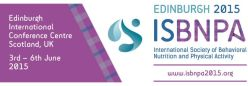 ISBNPA conference 2015