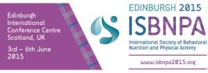 ISBNPA conference 2015